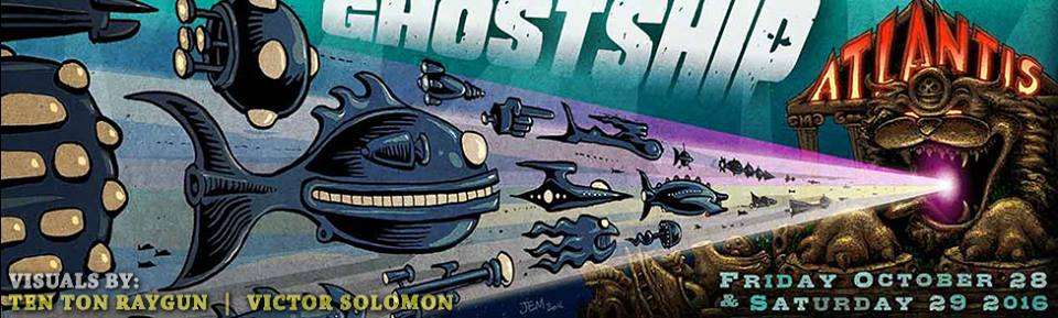 Ghost Ship Atlantis Flyer